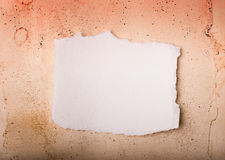 Grunge and white papers Stock Photography