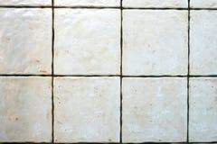 Grunge white tiles Royalty Free Stock Photos