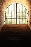 Grunge więzienie Obrazy Stock
