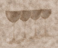 Grunge wine background Royalty Free Stock Photo