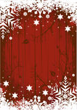 Grunge Winter Background Stock Photo