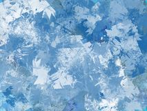 Grunge Winter background Royalty Free Stock Images