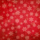 Red grunge winter background Royalty Free Stock Photos