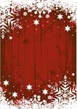Grunge Winter-Hintergrund Stockfoto
