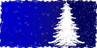 Grunge Winterhintergrund Stockfoto
