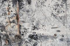 Grunge Witte Abstracte Minerale Textuur II stock fotografie
