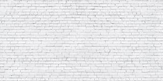 Grunge witte bakstenen muur, vergoelijkte metselwerkachtergrond royalty-vrije stock fotografie