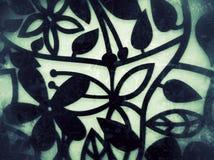 Grunge wizerunek kwiatu tło Obraz Royalty Free