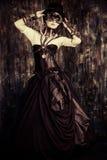 Grunge woman Royalty Free Stock Image
