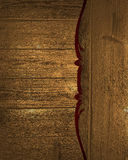 Grunge wood background with pattern. Template for design. copy space for ad brochure or announcement invitation, abstract backgrou Stock Photos