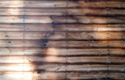 Grunge Wood Board Panel Structure.  Solid Wood Slats Rustic Sha. Light Brown Barn Wooden Wall Planking Texture. Solid Wood Slats Rustic Shabby Brown Background Royalty Free Stock Image
