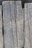 Grunge wood. Grunge decayed wood planks with nail Stock Photo