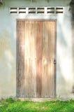Grunge wood door Royalty Free Stock Photo