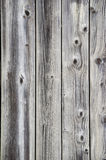 Grunge wood fence with knots Stock Photo