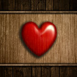 Grunge wood heart background Royalty Free Stock Image