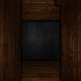 Grunge wood and metal background Stock Photo