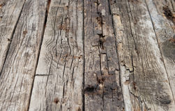 Grunge wood panels Royalty Free Stock Photos