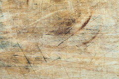Grunge wood texture. Close up of marred and marked grunge wood background texture stock photo