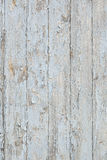 Grunge wood wall with old blue paint Royalty Free Stock Image