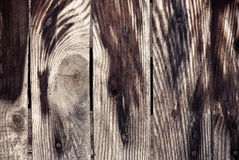 Grunge wooden background. Very old grunge wood background for use in design stock photo