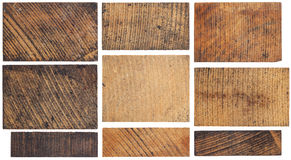Grunge wooden block Stock Image