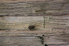 Grunge wooden fence Stock Image