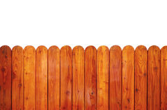 Grunge wooden fence isolated Royalty Free Stock Photo