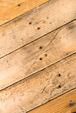 Grunge wooden flooring Royalty Free Stock Images