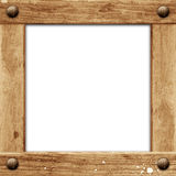 Grunge wooden frame Royalty Free Stock Image