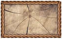 Grunge Wooden Frame Royalty Free Stock Images