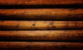 Grunge wooden logs Stock Image
