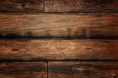 Grunge wooden logs Stock Photography
