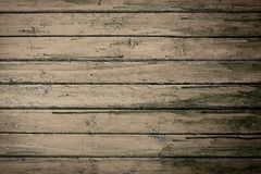 Grunge wooden natural background with brown planks Stock Photos