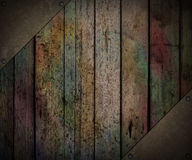 Grunge wooden Royalty Free Stock Images