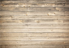 Grunge wooden texture with horizontal planks Royalty Free Stock Photo