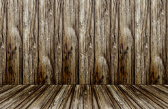 Grunge wooden wall Royalty Free Stock Images