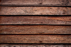 Grunge wooden wall used as background. Stock Photography