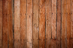 Grunge wooden wall used as background. Royalty Free Stock Photos