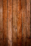 Grunge wooden wall used as background. Stock Image