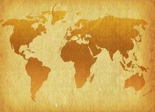 Grunge world vector illustration