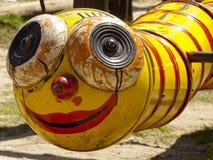 Grunge worm Stock Photography