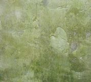 Grunge worn green wall background Stock Photography