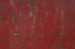 Grunge worn red wall background Royalty Free Stock Images