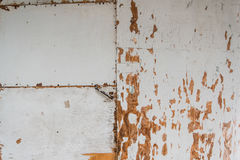 Grunge worn rough background texture with tons of character white plywood Stock Image