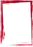 grunge wrabia czerwone. ilustracja wektor