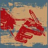 Grunge Writer Royalty Free Stock Image