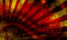 Grunge xmas background Stock Images