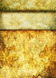Grunge yellow background Royalty Free Stock Image