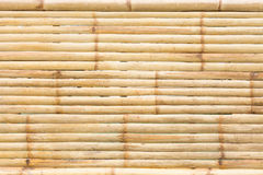 Grunge yellow bamboo background and texture Royalty Free Stock Images
