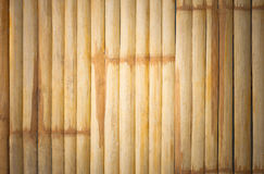 Grunge yellow bamboo background and texture Stock Images